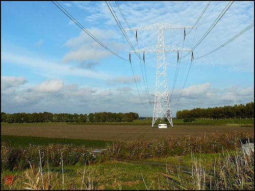 Powerlines in Texas